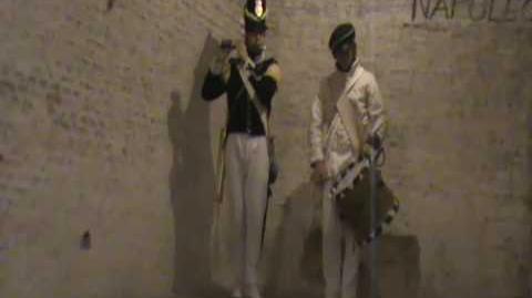 Fife and drum at Fort Napoleon 1 - British Grenadiers