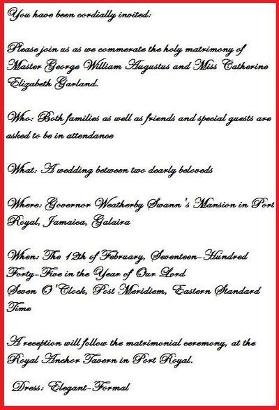Storm and William's Wedding