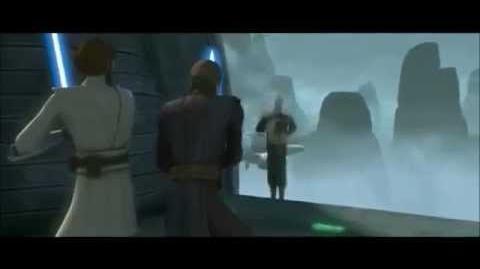 Anakin and Obi Wan vs. Count Dooku HD
