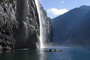Norway-Waterfall
