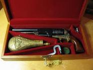 Richard's dueling pistol case