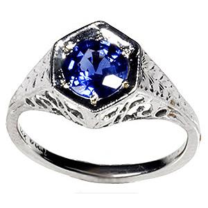 Ring bluediamond