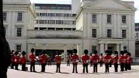 Royal Guards playing The Final Countdown