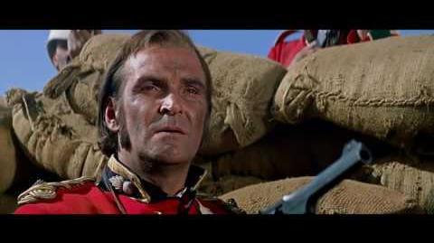 """""""Zulu"""" 1964 Movie - Final Battle Including """"Men of Harlech"""" Song."""