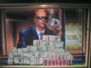 Duke Nukem casino painting