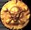 Treasure button coin1 on