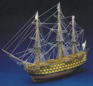 HMS Victory 1805 200 scale