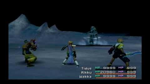 Final Fantasy X International-Dark Shiva-Boss Battle