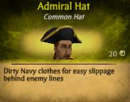 M Admiral Hat