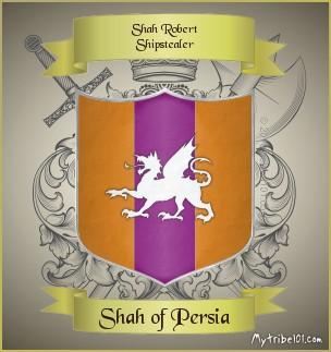 Shah Robert Shipstealer crest