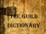 POTCO Guild Dictionary