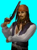 Jack with pistol