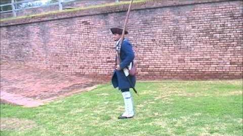 Spanish Colonial Infantry Musket Drill Revolutionary War Era