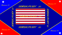 American 50 Military flag