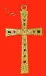 Richard's golden cross necklace