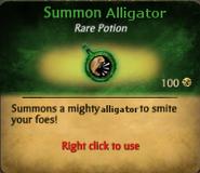 Summon Alligator