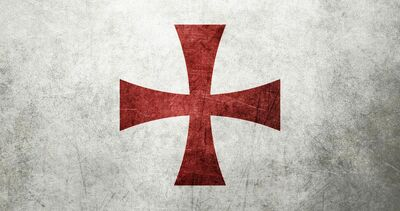Flag of the knights templar several resolutions by jpviktorjokinen-d5pgsdj-1