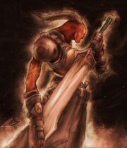 No War Demon Soldier by Ryannzha