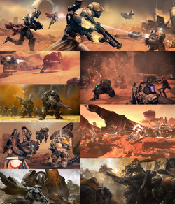 War of the Cabal Collage
