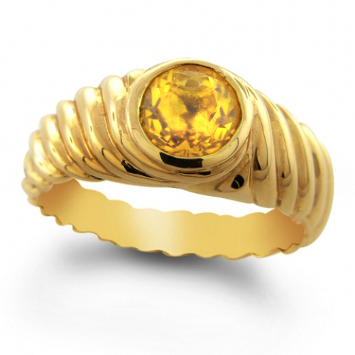 Gemstone-jewelry-gold-cable-ring-p188