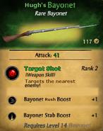 Hugh's Bayonet