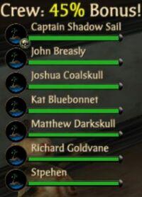 High Council Members Crew