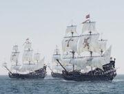 Largo Spanish Galleons