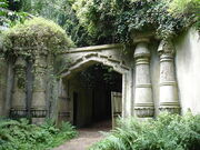 Highgate-Cemetery-North-London-England