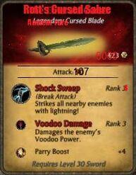 Rott's sabre