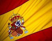 Spanish flag car hire Spain