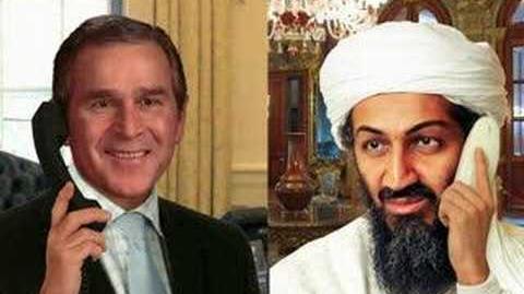 George Bush and Osama Bin Laden Sketch 2