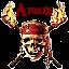 Admin Solo Seal Skull Fire
