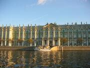 Winter palace of russian tsars
