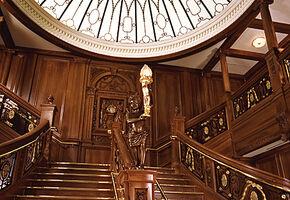 Titanic grand staircase0
