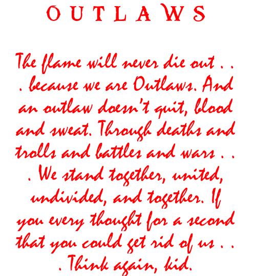 OUTLAWSNOTE