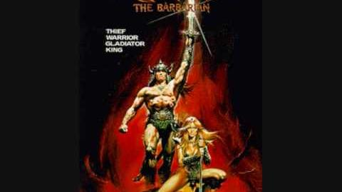 Riddle of Steel Riders of Doom - Conan the Barbarian Theme (Basil Poledouris)