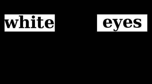 Whiteyes