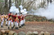 Redcoat shooting