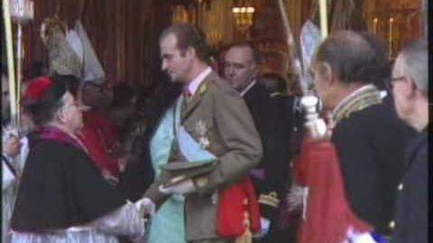 Misa coronación Juan Carlos I (1975)