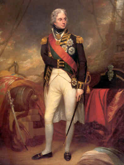 Image result for lord nelson portrait