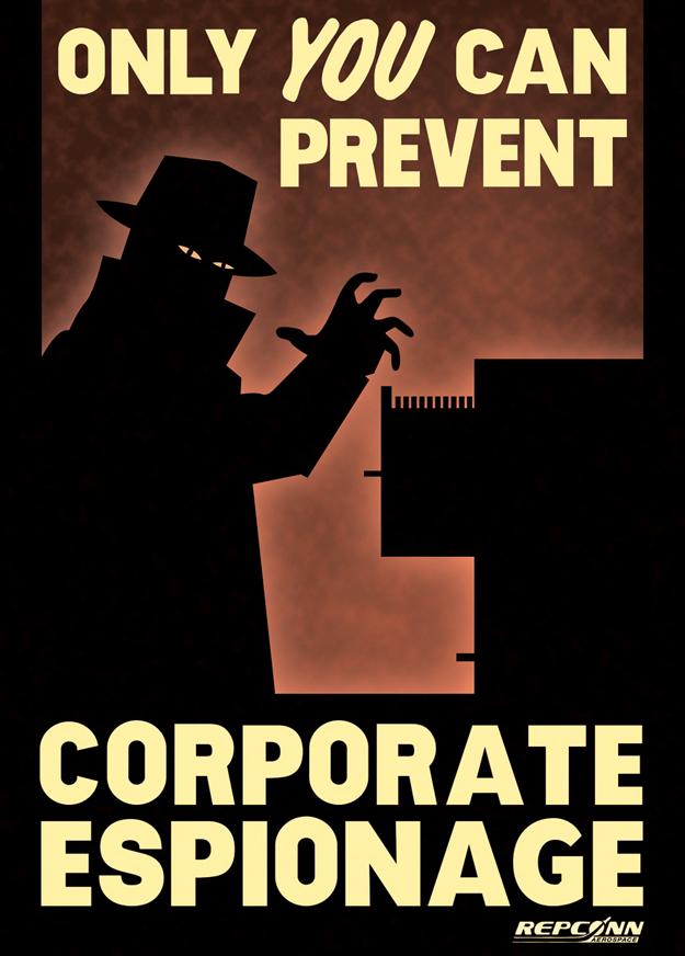 Corporate Espionage!