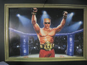 Duke Nukem MMA Champion Painting
