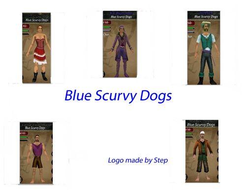 Blue Scurvy Dogs