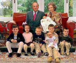 King jaun spain family