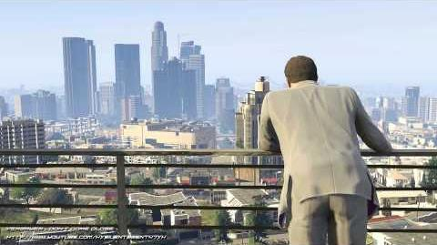 Grand Theft Auto GTA V - Ending A (Credits) Theme Music Song Yeasayer - Don't Come Close
