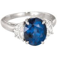 Richard's sapphire ring