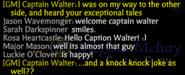 Walter's Speech