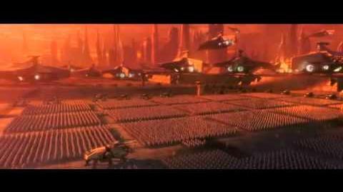 Begun the clone war has....