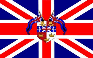 Navy Overlay Flag