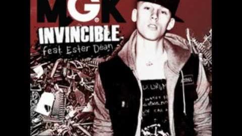 (MGK )Machine Gun Kelly - Invincible (Official) ft. Ester Dean
